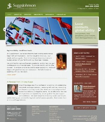 SJ website home page