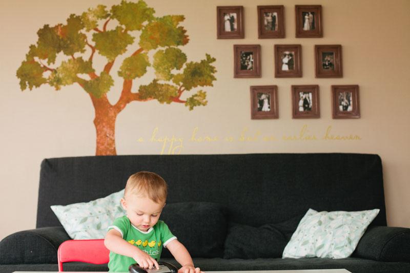 Oak Family Tree Wall Sticker - My Wonderful Walls