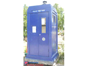 The fantastic police call box