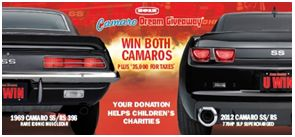 The Camaro Dream Giveaway Cars