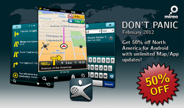 Mireo DONT PANIC North America Now 50% Off!