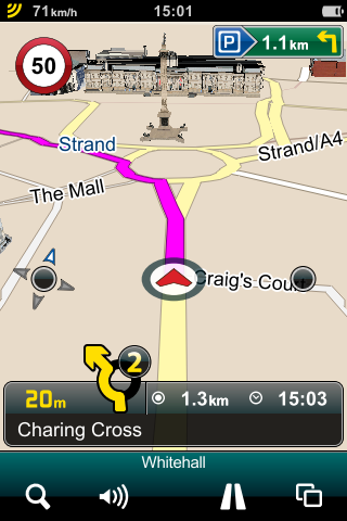 Mireo DONT PANIC Map View Roundabout