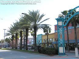 Beach Street, Downtown Daytona Beach, Florida