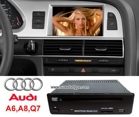 Audi A6 A8 Q7 Oem Stereo Radio Dvd Player Gps Navi Tv Ipod Lisa Zheng Prlog