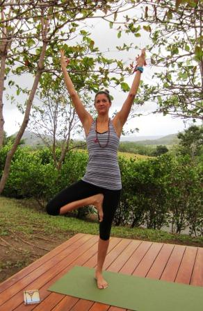 Jo Fielder at Villas de Palermo Yoga Center