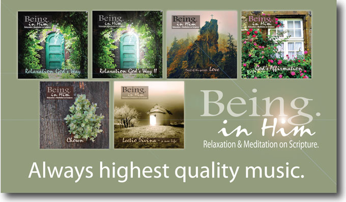 Being in Him CD series