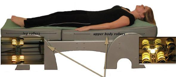 Silver Cloud Jade Massage Bed™.