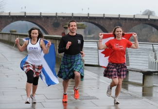 Training for Perth Kilt Run