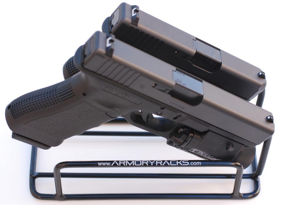 Armory Racks 2-Gun Handgun Rack