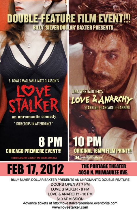 Love Stalker Love and Anarchy double bill