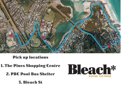 Elegant Bleach* Bus Route Map