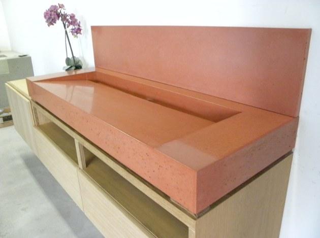 Sarche Concrete Design Creates Elegant Concrete Kitchen