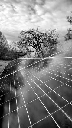 Church solar panel array (Photo by Bill Abrams)