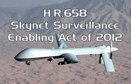 HR 658 Skynet Surveillance Drones