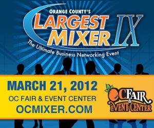 Orange County Largest Mixer 2012