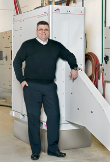 Peter Runeborg, head of welder sales