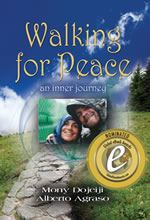Book Cover - Walking for Peace, an inner journey
