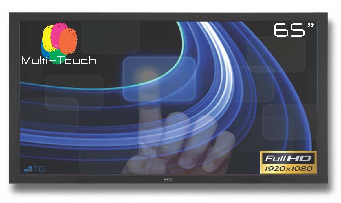 "Tech Global 65"" NEC Nextwindow Multi-Touch Display"