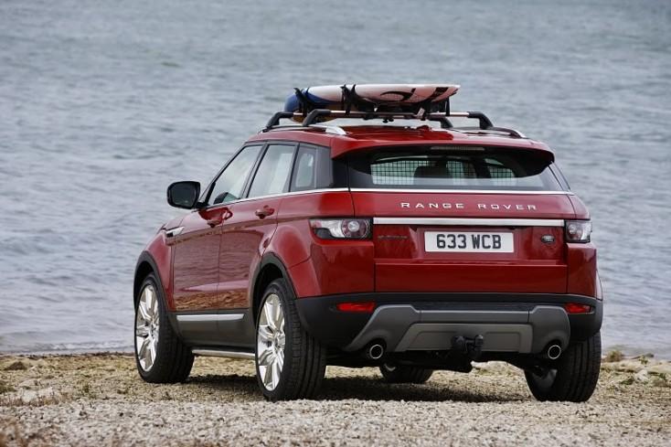 Land Rover Naples announces Range Rover Evoque named 2012 Luxury SUV