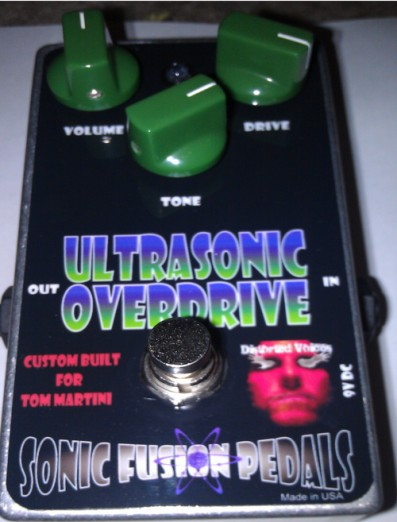Tom Martini's new Sonic Fusion Pedal