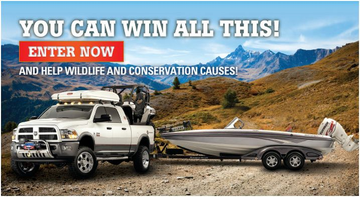 Enter to win and help worthy causes!