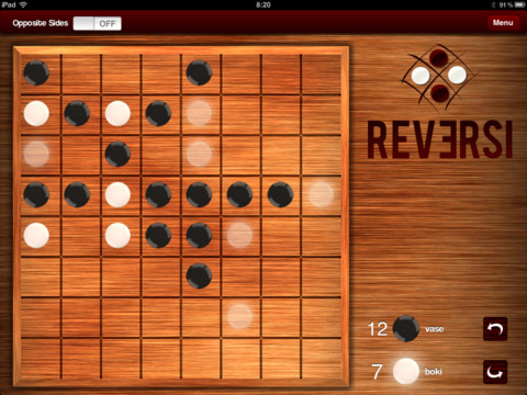 Reversi is now out for the iOS and WP7 devices