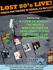 Lost 80's Live Visalia