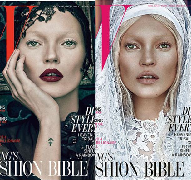 Kate Moss Covers W Magazine March 2012- Stylert