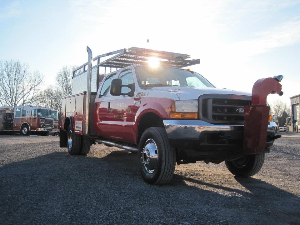 The Brush Truck donated by Brindlee