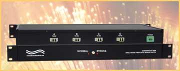 Model 6296 LC Duplex Fiber Optic Bypass Switch