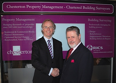 Opening of Chesterton Property Management office