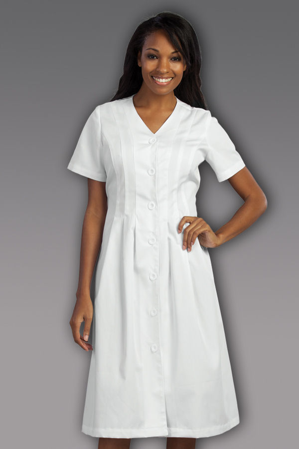 3/4 Cuffed Sleeve Dress (Style 1250)