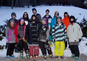 Vermont Academy Freeski Team