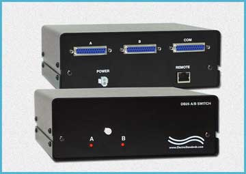 Model 4242 DB25 A/B Switch with LAN Access & GUI