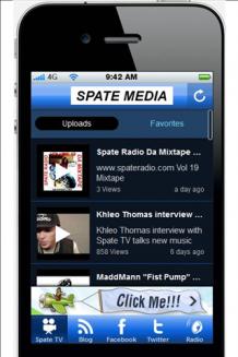 Spate Media App