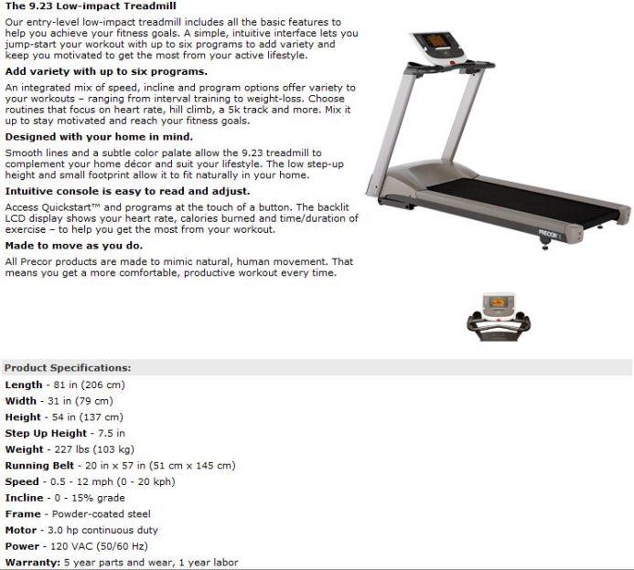 elliptical reviews treadmill and