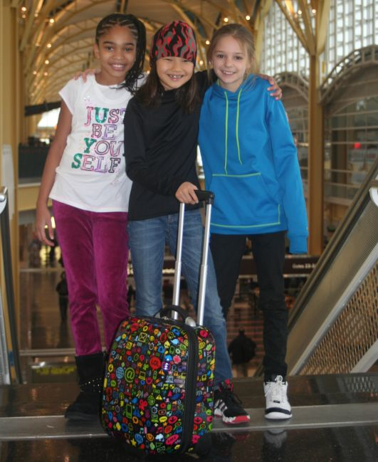TrendyKid's new TravelKool luggage