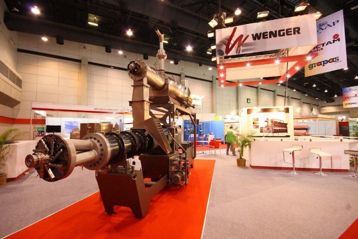 Wenger's new aquafeed extrusion system