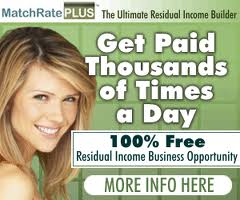 Match Plus Residual Income Business Opportunity