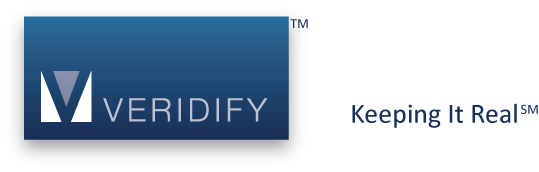 Veridify-logo with Keeping It Real