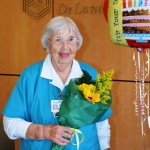 Marguerite Nerge celebrated her 90th birthday.