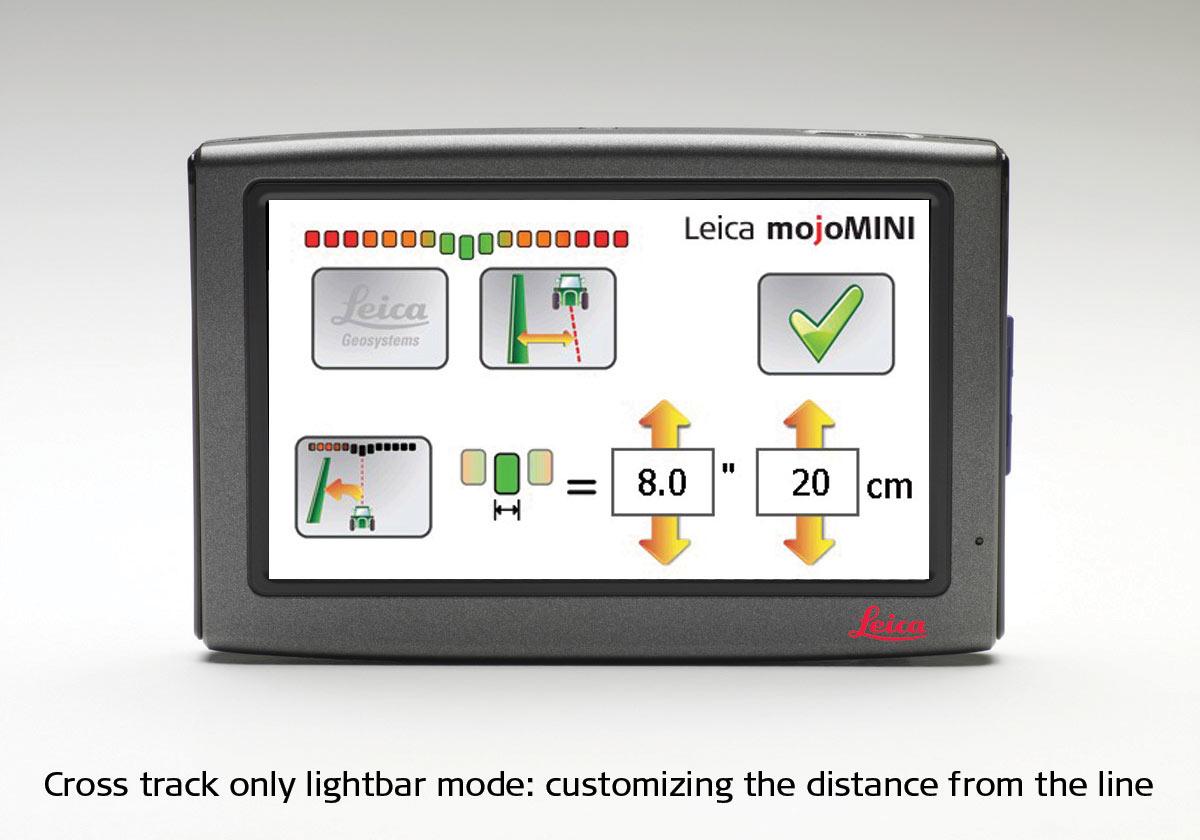Leica mojoMIN: lightbar mode
