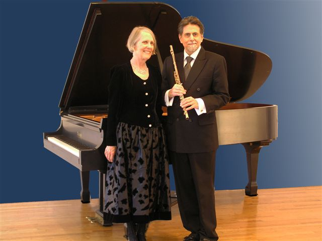 """2"" Peter Bloom, flute; Mary Jane Rupert, piano"