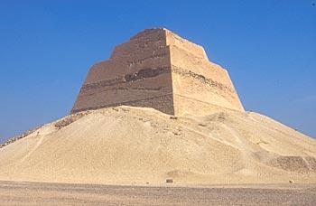 Meidum Pyramid, Cairo, Egypt