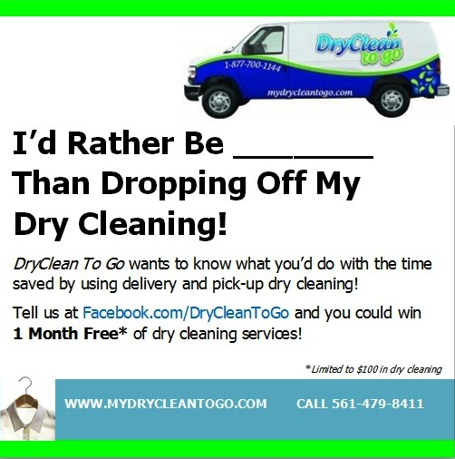 DryCleanToGo - I'd Rather Be...