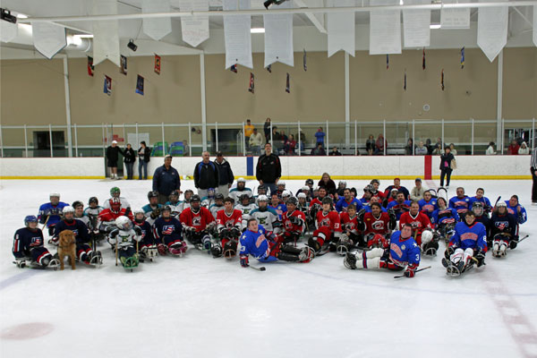 2012 Florida Sled Hockey Showcase players