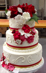 Ontario Bakery wedding cake
