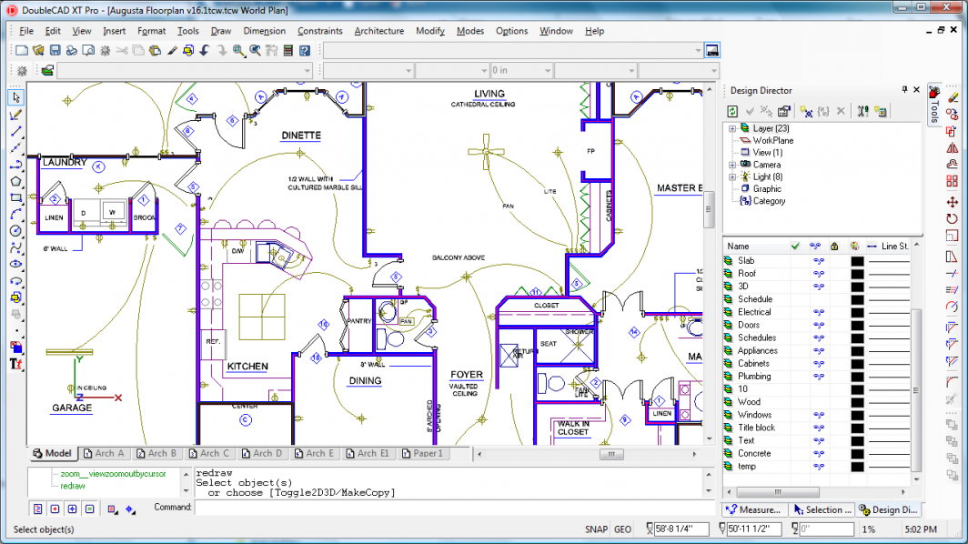 Electrical CAD Drawings
