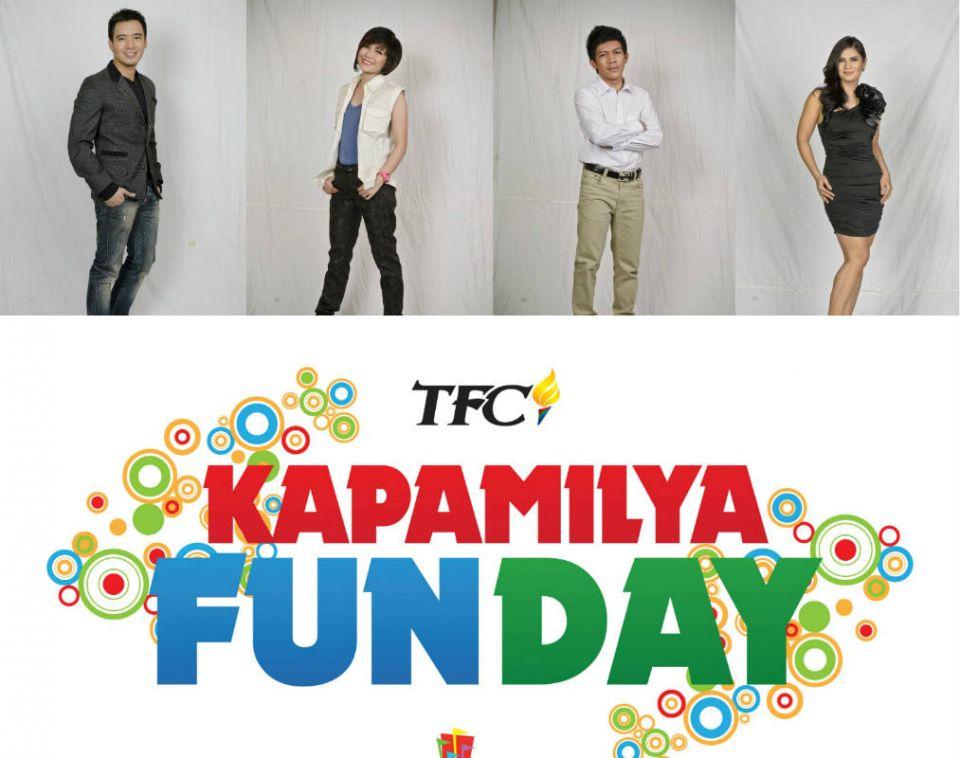 Erik,Yeng,Jovit&Vina@TFC Kapamilya Fun Day at SFMM