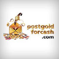 Postgoldforcash.com Logo